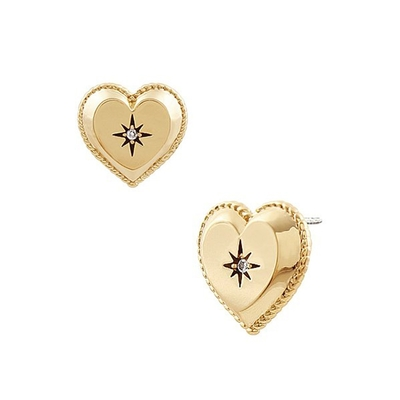 NOONOO FINGER MADEMOA GOLD EARRINGS 耳環