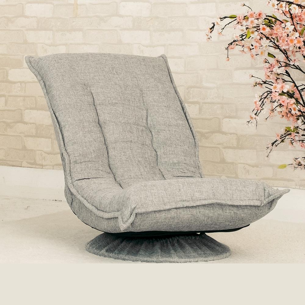 JP Kagu嚴選 日式好舒適360度旋轉多段和室椅/躺椅(二色)