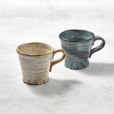 KOYOTOKI日本美濃燒 寬口茶杯 - 對杯組(2件式)-250ml