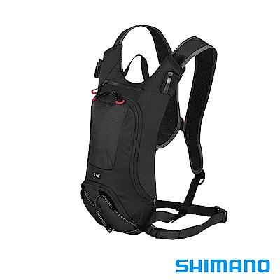SHIMANO UNZEN 登山車後背包-無水袋 2L 黑