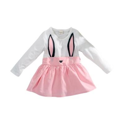 女童薄長袖連身裙 k61053 魔法Baby