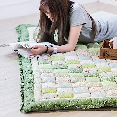 樂嫚妮 厚鋪棉地毯/饅頭墊/榻榻米墊 110X200cm