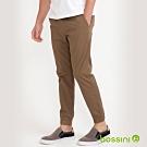 bossini男裝-輕鬆束口褲01卡其