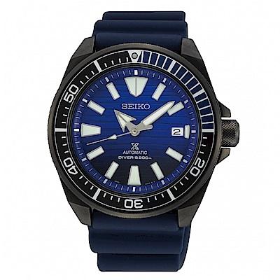 SEIKO PROSPEX 愛海洋機械潛水時尚腕錶/4R35-01X0A/SRPD09J1