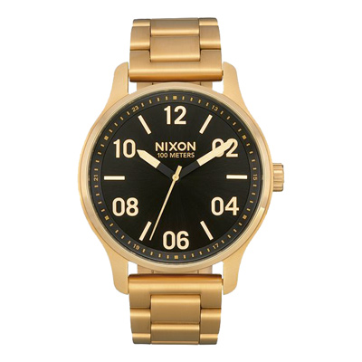 NIXON PATROL經典現代時尚腕錶-金(A1242513)-42mm