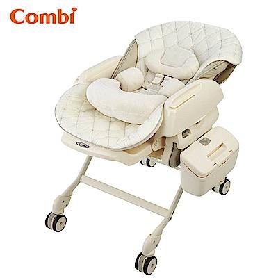 【麗嬰房】Combi 電動安撫餐椅搖床 LettoLX法國香草
