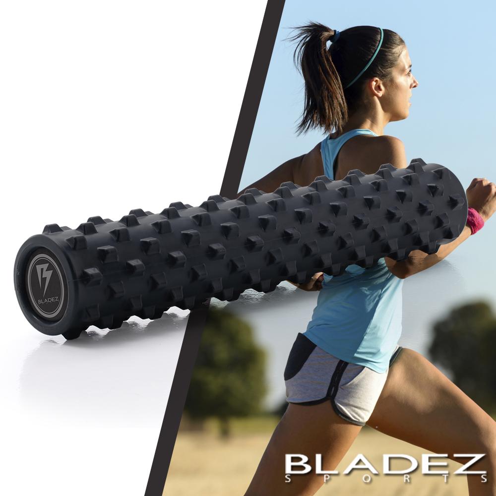 【BLADEZ】深層狼牙棒按摩滾筒(長版)-深藍色 product image 1