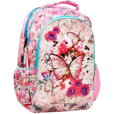 【MAXPERO】銀蔥蝴蝶19吋後背書包 / 兒童背包 / 後背包