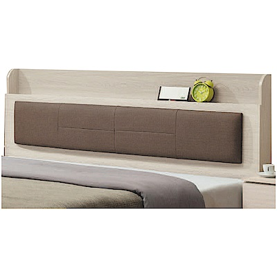 綠活居 海芙6尺皮革雙人加大床頭片(二色+不含床底)-182x14x106cm免組