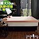 House Door 大和防蹣抗菌表布 10cm雙膠床墊保潔組-單大3.5尺