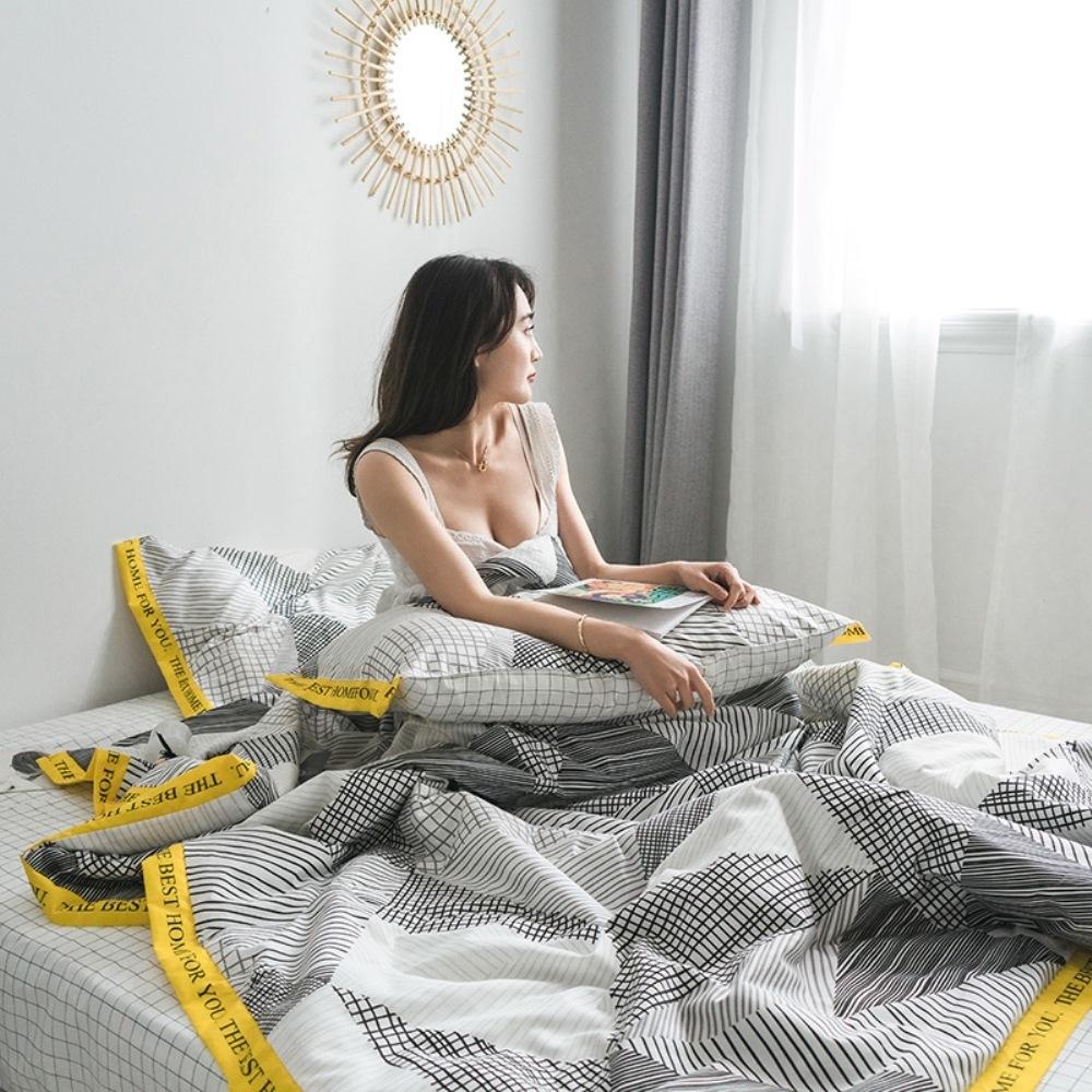 BUNNY LIFE 格韶-LOFT精梳棉舒柔涼被(含枕套)