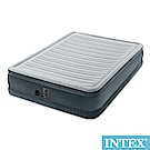 INTEX 豪華型橫條內建幫浦充氣床-雙人-寬137cm(67767)