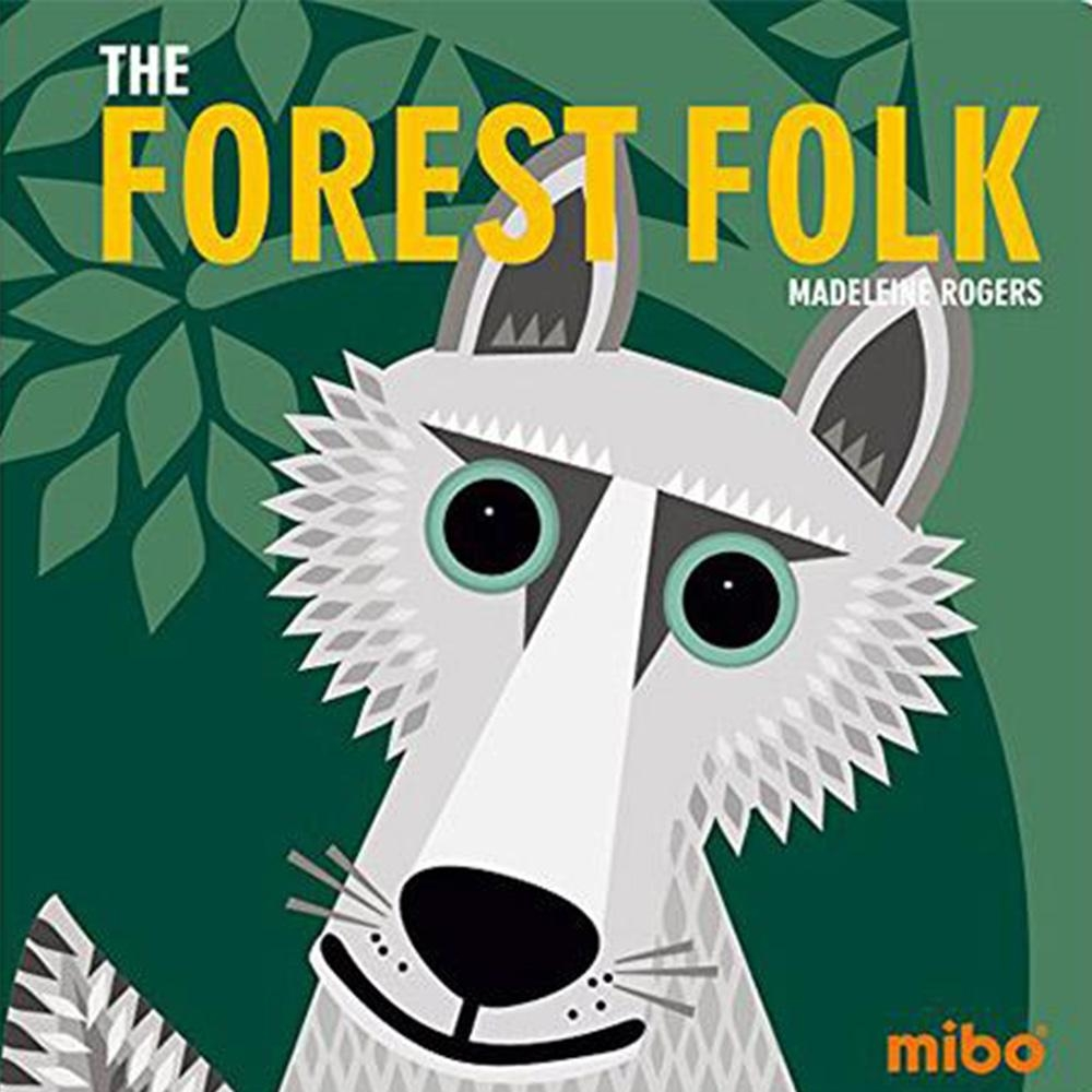 The Forest Folk 森林動物 硬頁書