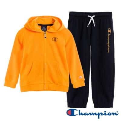 Champion EU小童連帽套裝 黃X黑