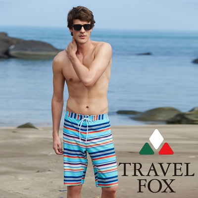 TRAVEL FOX大男寬口泳褲C17913