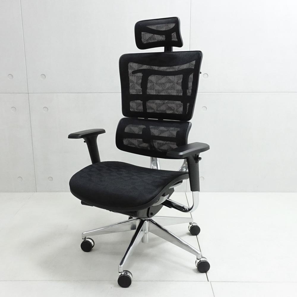 LOGIS 萊恩透氣全網人體工學椅 電腦椅 辦公椅 主管椅