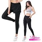 運動褲 遮胖胖腿顯瘦提臀假兩件運動長褲 M-XL LOTUS