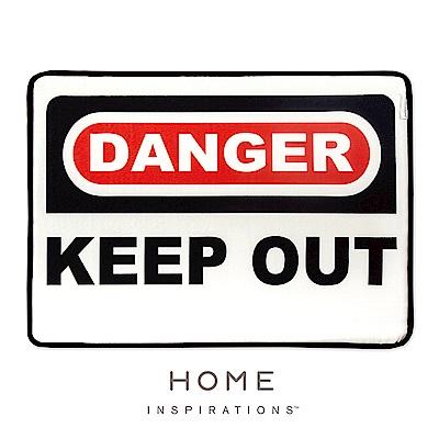 趣味記憶綿浴墊-危險禁入(Danger)