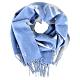 Louis Vuitton Studdy Reykjavik 羊毛提花編織金屬飾釘流蘇圍巾(藍灰) product thumbnail 1