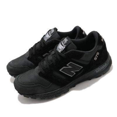 New Balance 休閒鞋 575 復古 運動 男鞋 紐巴倫 英國製 質感 簡約 球鞋 穿搭 黑 灰 MTL575KLD
