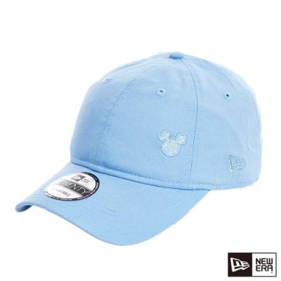 NEW ERA 9TWENTY 920 迪士尼 MINI LOGO米奇 天空藍/銀 棒球帽