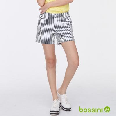 bossini女裝-休閒短褲01黑白