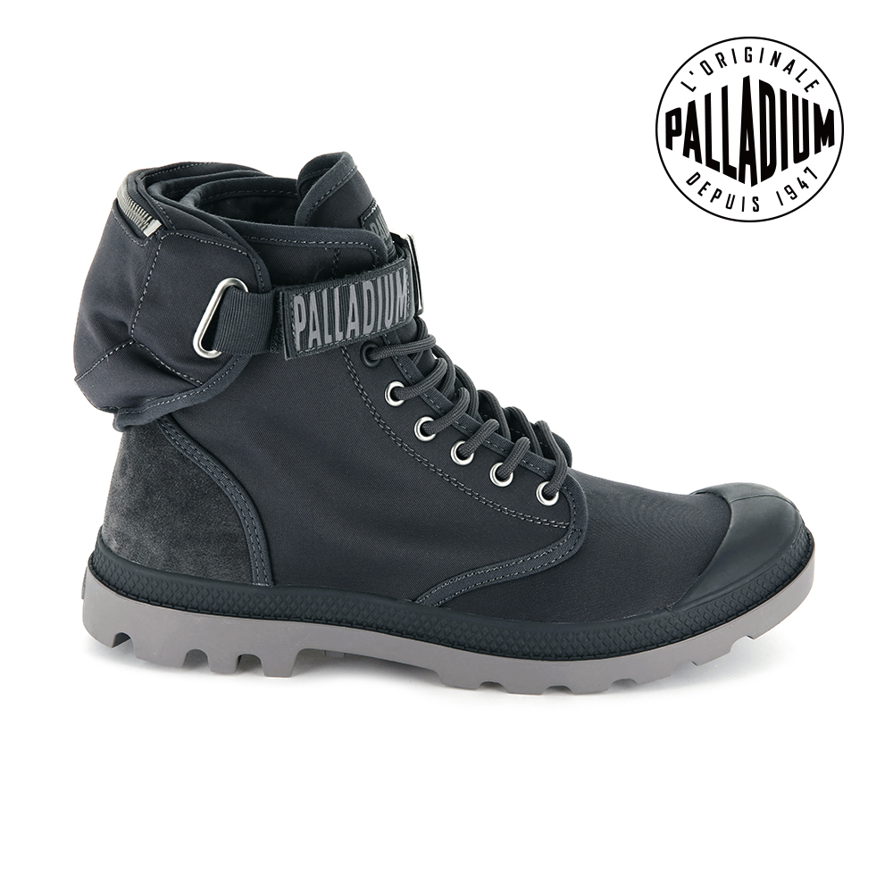Palladium PAMPA SOLIDRANGERNYC軍靴-男-鐵灰