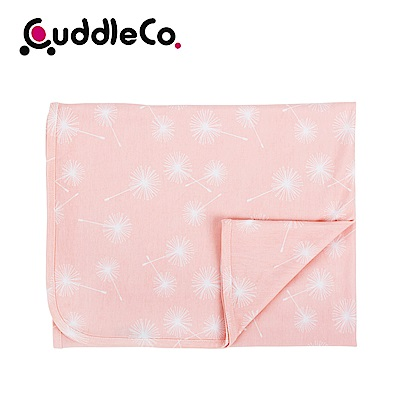 英國CuddleCo 竹纖維寶寶四季毯90x70cm-粉紅泡泡