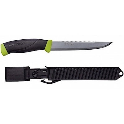 MORAKNIV Fishing Comfort Scaler 150 不鏽鋼戶外魚刀 黑