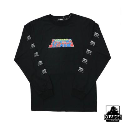 XLARGE L/S TEE XL POWER RANGERS TEE長袖T恤-黑