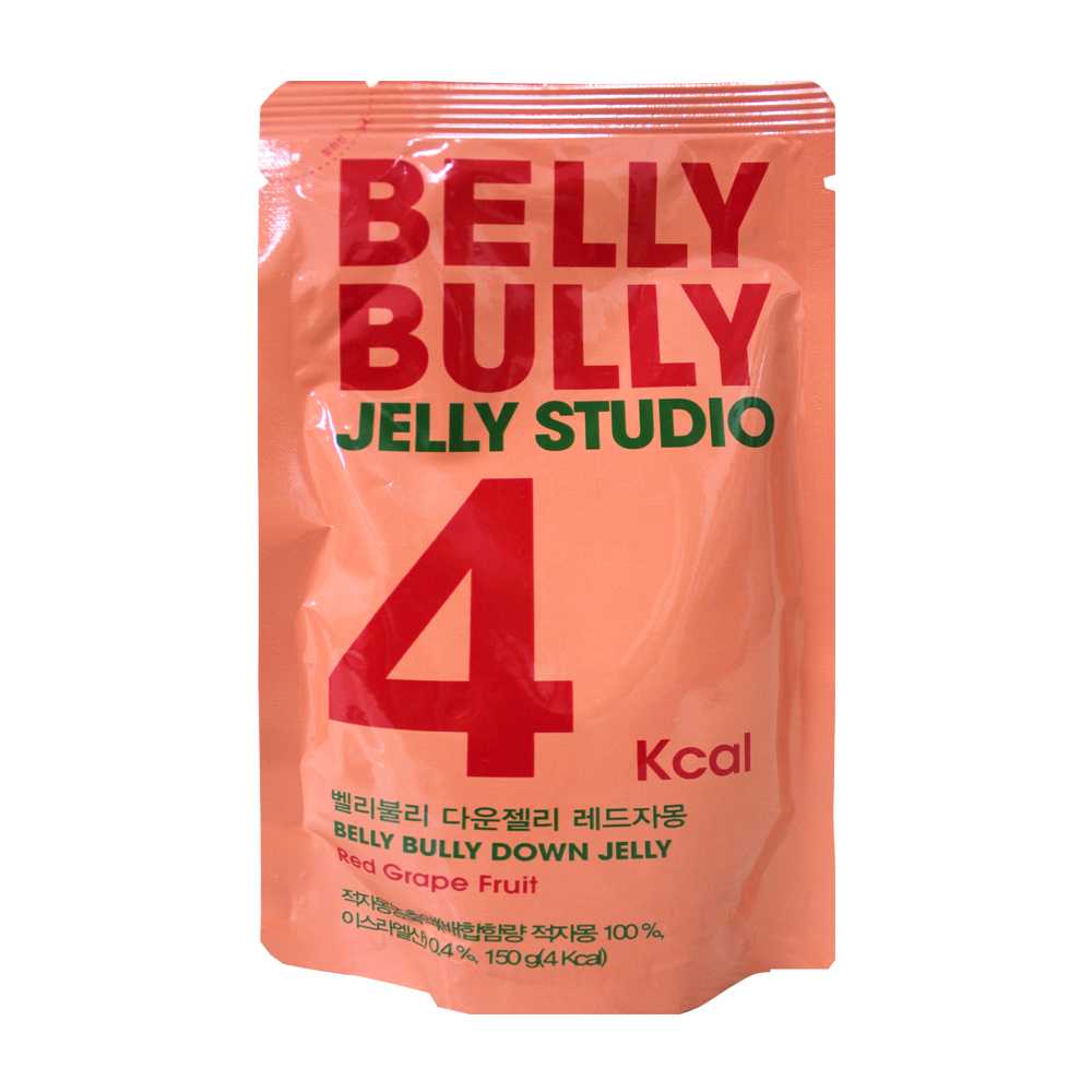 BELLY BULLY果凍飲-葡萄柚味(150g)