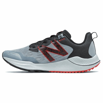 New Balance 男 越野跑鞋 灰-MTNTRCK4-4E