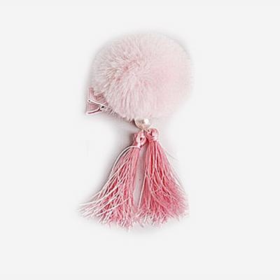 baby童衣 兒童宮廷髮夾 復古中國風毛球流蘇髮飾 88164