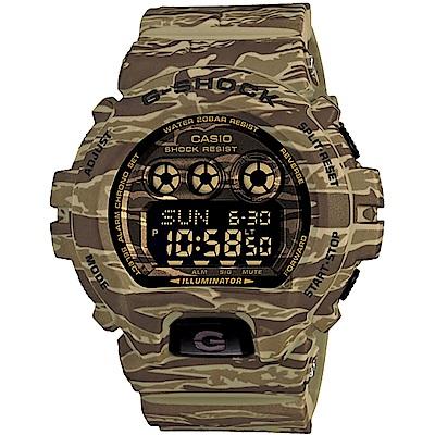 G-SHOCK軍事迷彩手錶-卡其GD-X6900CM-5DR