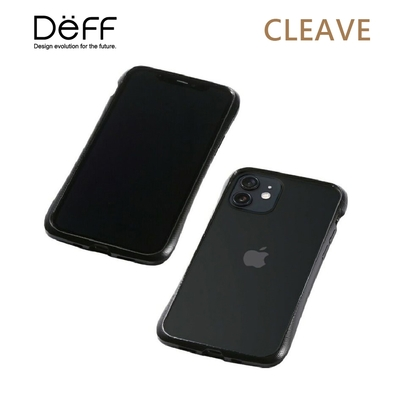 Deff CLEAVE 鋁合金保險桿 for iPhone iPhone 12 Mini 黑色