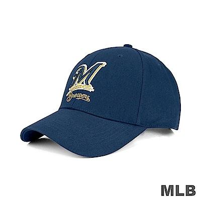 MLB-密爾瓦基釀酒人隊可調式復古球帽