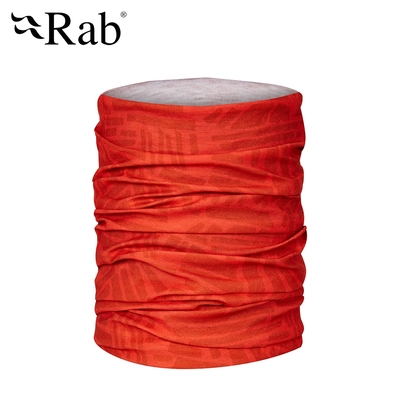 【英國RAB】Rab Tube 多功能運動圍巾 爆竹橘 #QAA49