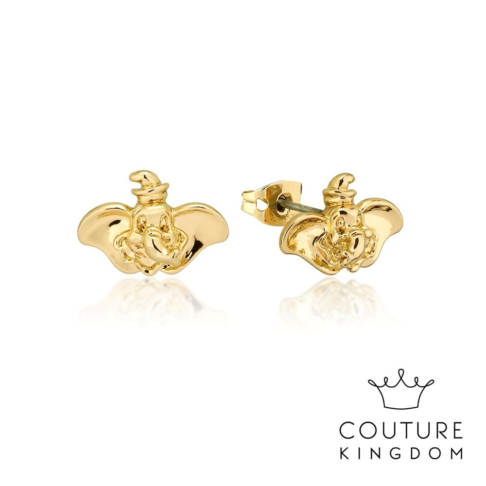 Disney Jewellery by Couture Kingdom 小飛象鍍金耳釘