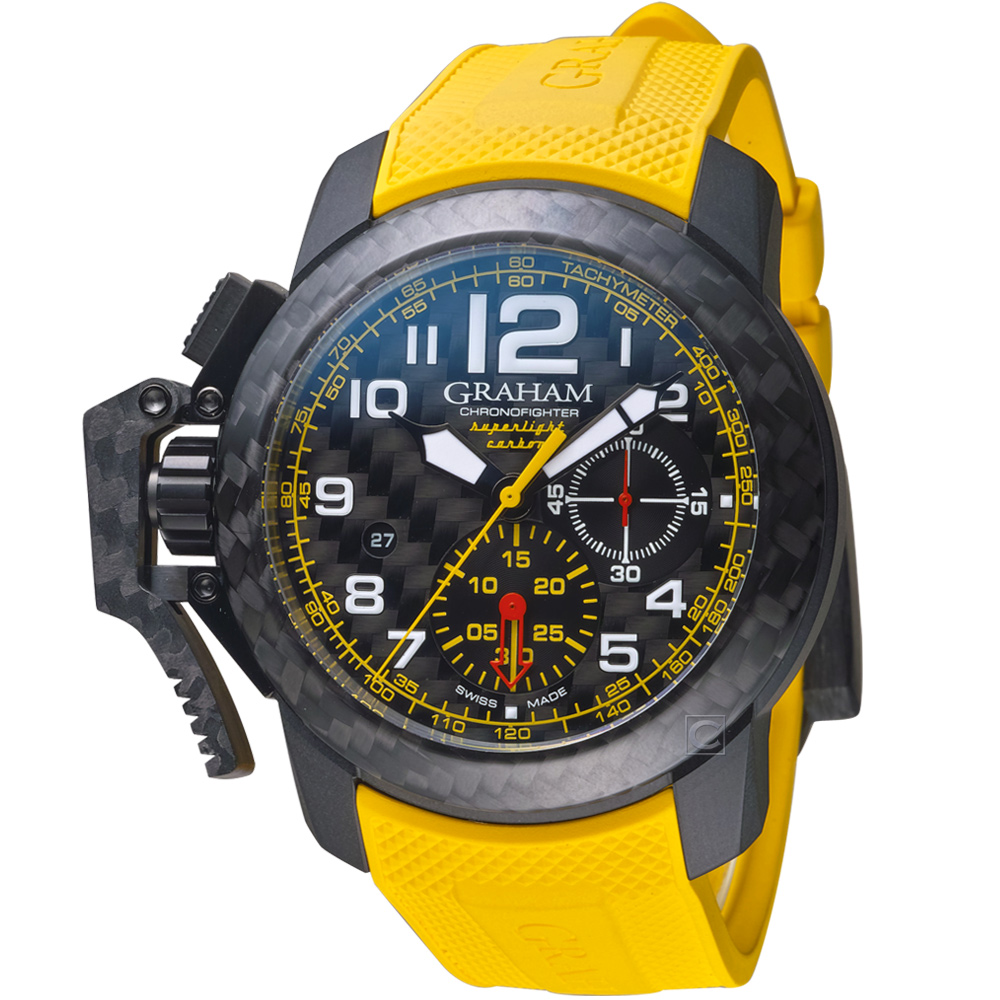 GRAHAM格林漢Superlight Carbon腕錶2CCBK.B15A.K103K