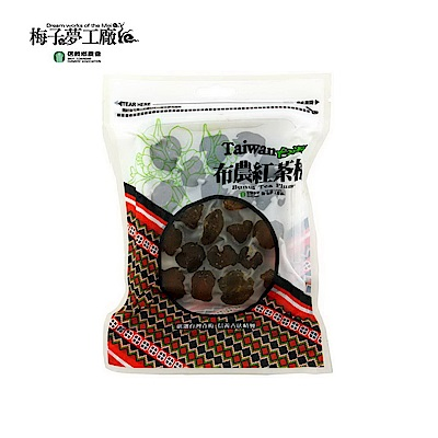 信義鄉農會 布農紅茶梅 200g/包