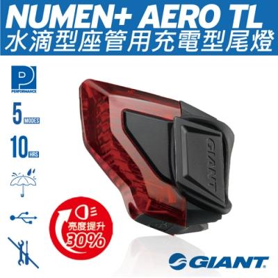 Ginat Numem+ AERO TL 水滴型坐管用尾燈(充電型)