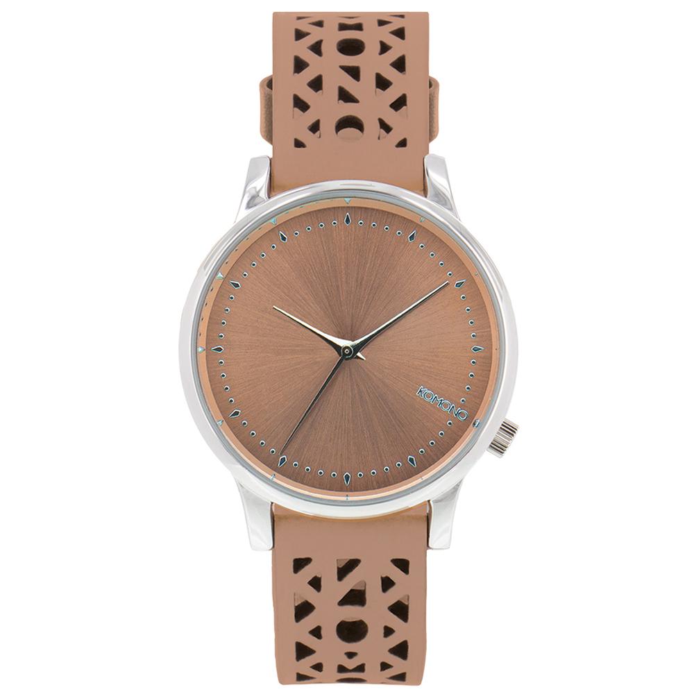 KOMONO Estelle Cutout 腕錶-粉色雕刻/36mm