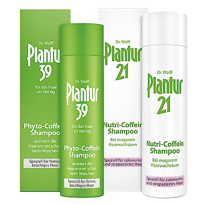 Plantur 營養與咖啡因全方位洗髮露250mlx2-39洗X1+21洗X1