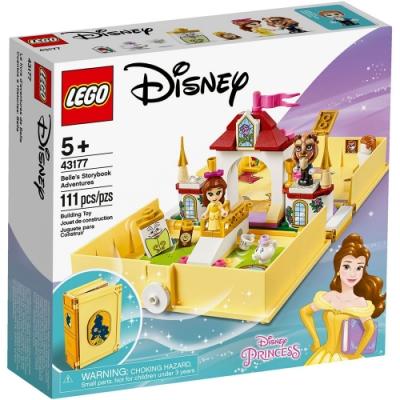 樂高LEGO 迪士尼公主系列 - LT43177 貝兒的口袋故事書