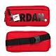 NIKE JORDAN 中型腰包-飛人喬丹 臀包 側背包 斜背包 慢跑 JD2113015AD-002 紅黑白 product thumbnail 1