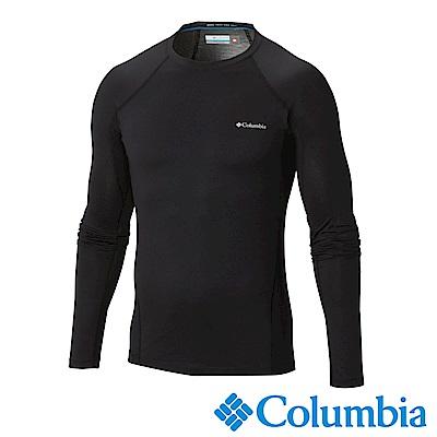 Columbia哥倫比亞 男款-Omni-HEAT保暖快排長袖上衣-黑色