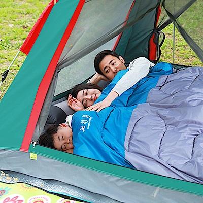 【KISSDIAMOND】新黑膠抗UV加大速搭帳篷