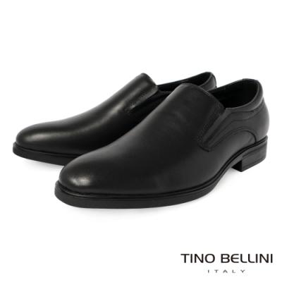 TINO BELLINI 男款經典紳士商務直套式牛皮鞋