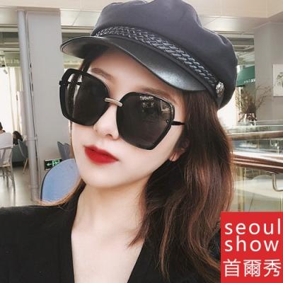 seoul show首爾秀 四方大框網紅太陽眼鏡UV400墨鏡 5224
