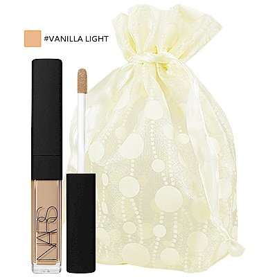 NARS 妝點甜心遮瑕蜜精巧版(#VANILLA LIGHT)(1.4ml)旅行袋組
